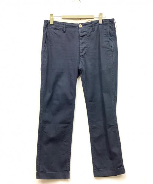 VISVIM(ヴィスヴィム)VISVIM (ヴィスヴィム) パンツ ネイビー サイズ:2の古着・服飾アイテム