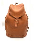土屋鞄(ツチヤカバン)の古着「バックパック」|ブラウン