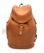 土屋鞄(ツチヤカバン)の古着「バックパック」 ブラウン
