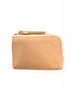 土屋鞄(ツチヤカバン)の古着「キーポーチ」 ベージュ