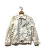 SEE BY CHLOE(シーバイクロエ)の古着「デニムジャケット」|ホワイト