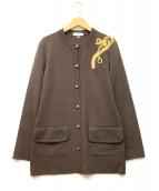 CELINE(セリーヌ)の古着「ニットカーディガン」|ブラウン