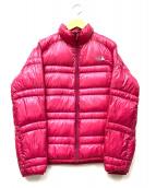 THE NORTH FACE(ザノースフェイス)の古着「ダウンジャケット」|ピンク
