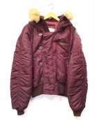AVIREX(アビレックス)の古着「N-2Bジャケット」|ボルドー