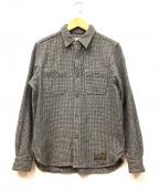 WACKO MARIA(ワコマリア)の古着「ウールシャツ」|グレー