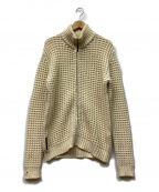 PRADA()の古着「ニットジャケット」|ベージュ