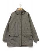 ()の古着「バーティカルグライドジャケット」|ブラウン