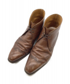 ()の古着「ウィングチップブーツ」 ブラウン