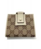 ()の古着「2つ折り財布」|ベージュ