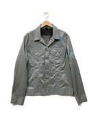 LEVIS(リーバイス)の古着「ナイロンジャケット」 ライトグレー