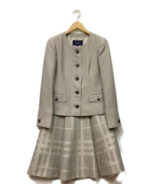 BURBERRY LONDON(バーバリーロンドン)BURBERRY LONDON (バーバリーロンドン) セットアップ ベージュ サイズ:38の古着・服飾アイテム
