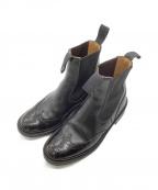 Trickers(トリッカーズ)の古着「サイドゴアブーツ」|ブラック