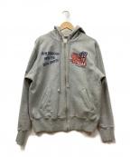 TED COMPANY(テッドカンパニー)の古着「ジップパーカー」 グレー