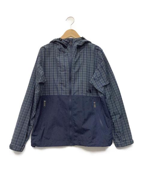 THE NORTH FACE(ザ ノース フェイス)THE NORTH FACE (ザノースフェイス) コンパクトジャケット ネイビー サイズ:Mの古着・服飾アイテム