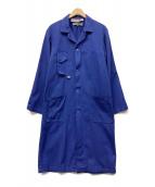 COMME des GARCONS(コムデギャルソン)の古着「ショップコート」|ブルー