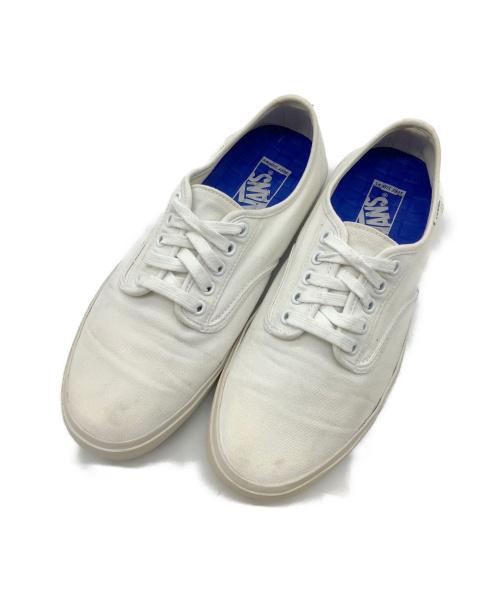 VANS(ヴァンズ)VANS (バンズ) ローカットスニーカー ホワイト サイズ:27の古着・服飾アイテム