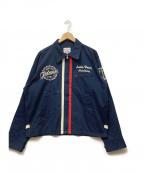 TED COMPANY(テッドカンパニー)の古着「ジップアップジャケット」 ネイビー