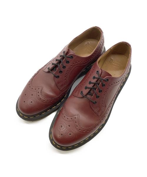 Dr.Martens(ドクターマーチン)Dr.Martens (ドクターマーチン) ブローグシューズ ブラウン サイズ:42 3989の古着・服飾アイテム