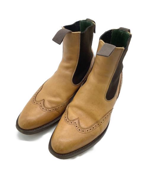 Trickers(トリッカーズ)Trickers (トリッカーズ) サイドゴアブーツ ブラウン サイズ:不明の古着・服飾アイテム