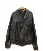 DAMIR DOMA(ダミールドーマ)の古着「レザージャケット」|ブラック