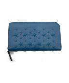 JIMMY CHOO(ジミーチュウ)の古着「長財布」|ブルー