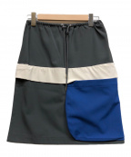 tsumori chisato(ツモリチサト)の古着「スカート」|グレー×ブルー