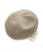Nine Tailor(ナインテイラー)の古着「ベレー帽」|ベージュ