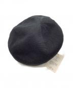 Nine Tailor(ナインテイラー)の古着「ベレー帽」|ブラック