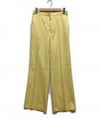 qualite(カリテ)の古着「パンツ」|イエロー