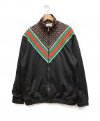 GUCCI()の古着「GGスターオーバーサイズジャケット」 ブラック