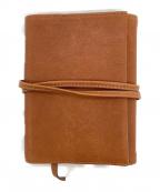 土屋鞄(ツチヤカバン)の古着「手帳カバー」 ブラウン