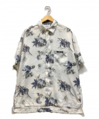 STUDIOUS(ステュディオス)の古着「花柄シャツ」|ホワイト