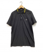 N°21 numero ventuno(ヌメロヴェントゥーノ)の古着「ポロシャツ」|ブラック×イエロー