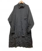 YOHJI YAMAMOTO(ヨウジヤマモト)の古着「スタッフシャツ」|ブラック