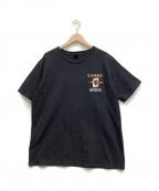 AVIREX(アヴィレックス)の古着「Tシャツ」|ネイビー