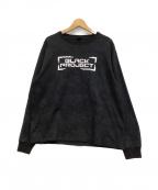 AVIREX(アヴィレックス)の古着「長袖Tシャツ」|ブラック