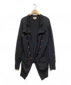 Vivienne Westwood(ヴィヴィアンウエストウッド)の古着「ニットカーディガン」|ネイビー