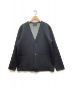()の古着「ノーカラージャケット」|ブラック