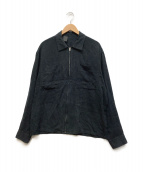 ()の古着「ジップジャケット」|ネイビー