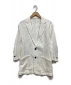 ()の古着「フクレストレッチジャケット」|ホワイト