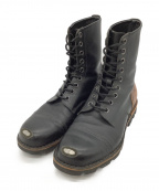 DIESEL(ディーゼル)の古着「ブーツ」|ブラック×ブラウン