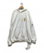 2G×SORAYAMA(ツージー×ソラヤマ)の古着「プルオーバーパーカー」|ホワイト