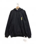 2G×SORAYAMA(ツージー×ソラヤマ)の古着「プルオーバーパーカー」|ブラック