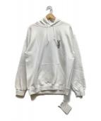()の古着「プルオーバーパーカー」 ホワイト