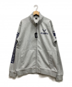 AVIREX(アヴィレックス)の古着「ジップジャケット」|グレー