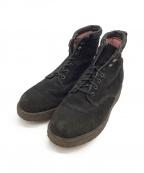 Caminando()の古着「スウェードブーツ」 ブラック
