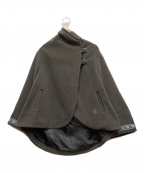 FJALLRAVEN(フェールラーベン)の古着「メルトンポンチョ」 グレー
