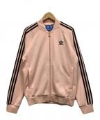 adidas Originals(アディダスオリジナル)の古着「トラックジャケット」|ピンク