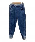 G-STAR RAW(ジースターロゥ)の古着「サルエルパンツ」 インディゴ