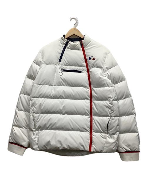 LACOSTE SPORT(ラコステスポーツ)LACOSTE SPORT (ラコステスポーツ) ダウンジャケット ホワイト サイズ:50の古着・服飾アイテム